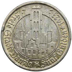 Free City of Danzig, 5 gulden 1923
