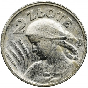 Women and ears, 2 zloty Paris 1924