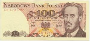 100 złotych 1976 - CN -