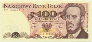 100 złotych 1979 - GZ -