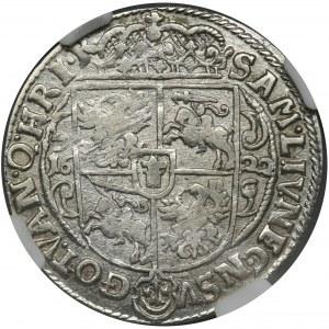 Zygmunt III Waza, Ort Bydgoszcz 1622 - PRV M - NGC AU55 - NIENOTOWANY