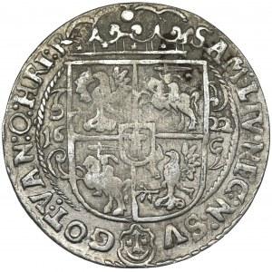 Sigismund III Vasa, 1/4 Thaler Bromberg 1622 - PR M