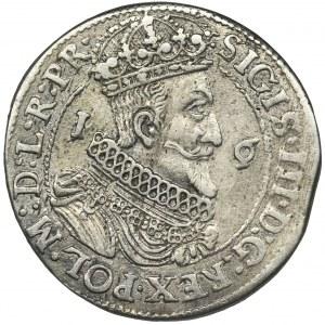 Sigismund III Vasa, 1/4 Thaler Danzig 1623 - PR•