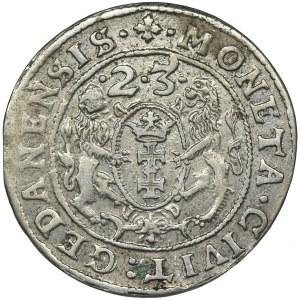 Zygmunt III Waza, Ort Gdańsk 1623 - PR•