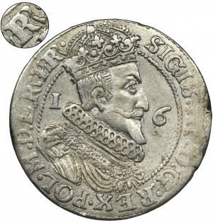 Sigismund III Vasa, 1/4 Thaler Danzig 1624/3 - PR•