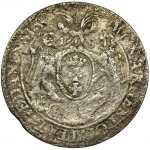 John II Casimir, 1/4 Thaler Danzig