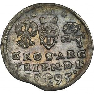 Sigismund III Vasa, 3 Groschen Vilinius 1595