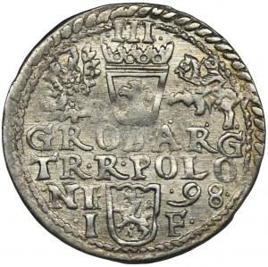 Zygmunt III Waza, Trojak Olkusz 1598