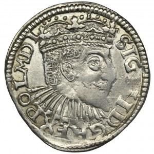 Sigismund III Vasa, 3 Groschen Bromberg 1595