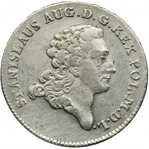 Poniatowski, Dwuzłotówka 1775 EB