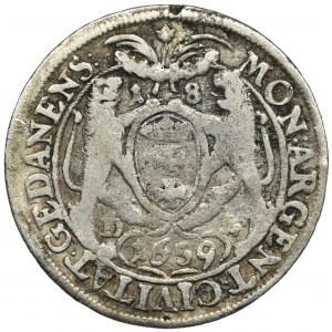Jan II Kazimierz, Ort Gdańsk 1659 DL