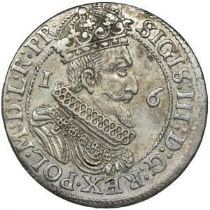Zygmunt III Waza, Ort Gdańsk 1623 - dwie daty, PR• - RZADSZY