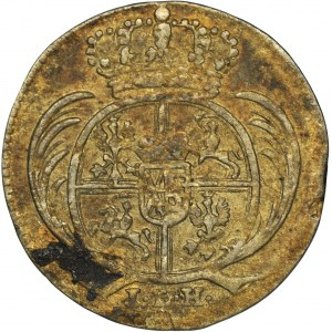 August II Mocny, 1/48 Talara (półgrosz) Drezno 1712 ILH