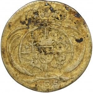 August II Mocny, 1/48 Talara (półgrosz) Drezno 1718 IGS