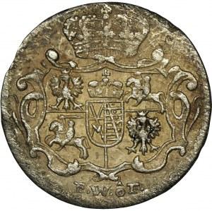 August III Sas, 1/48 Talara (półgrosz) Drezno 1749 FWôF