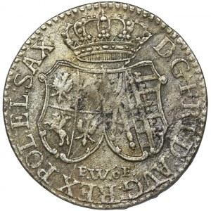 Augustus III of Poland, 1/12 Thaler Dresden 1763 FWôF