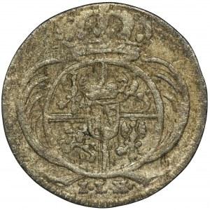 August II Mocny, 1/48 Talara (półgrosz) Drezno 1714 ILH