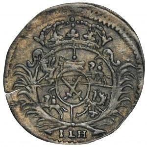 August II Mocny, Halerz Drezno 1699 ILH