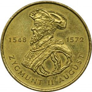 2 złote 1996, Zygmunt II August
