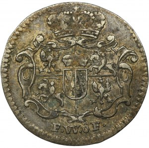 Augustus III of Poland, 1/48 Thaler Dresden 1735 FWôF