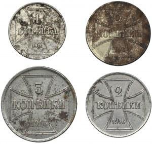 Zestaw, Ost, Kopiejki (4 szt.)
