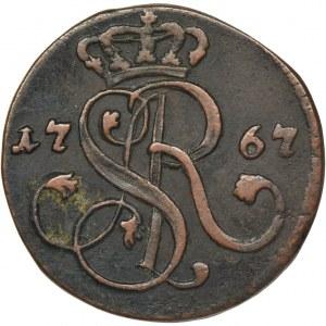 Poniatowski, Groschen Krakau 1767 G