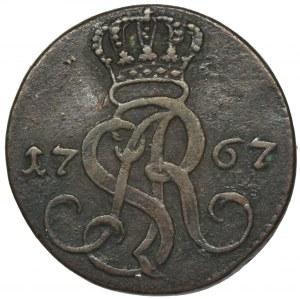 Poniatowski, Grosz Kraków 1767 g - FAŁSZERSTWO