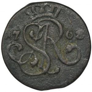 Poniatowski, Szeląg Kraków 1768 G
