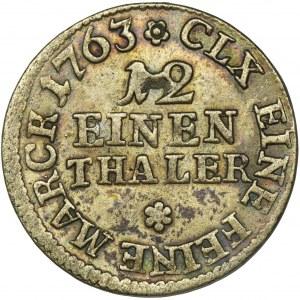 Friedrich Christian, 1/12 Thaler Leipzig 1763 EDC