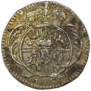 August II Mocny, 1/48 Talara (półgrosz) Drezno 1728 IGS