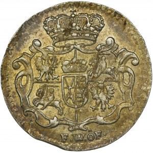 Augustus III of Poland, 1/48 Thaler Dresden 1748 FWôF