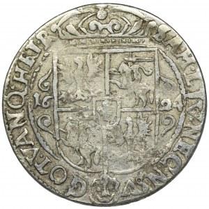 Sigismund III Vasa, 1/4 Thaler Bromberg 1624 - PRV M