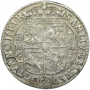 Zygmunt III Waza, Ort Bydgoszcz 1622 - PRVS M - ładny