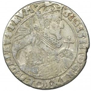 Sigismund III Vasa, 1/4 Thaler Bromberg 1624 - PRV M - RARE