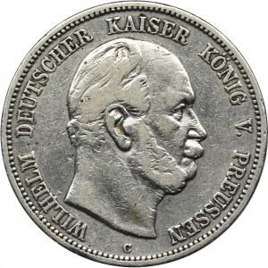 Niemcy, Królestwo Prus, Wilhelm I, 5 Marek Frankfurt 1876 C
