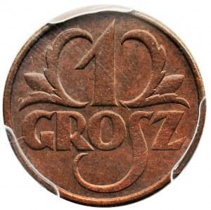 1 grosz 1930 - PCGS MS63 BN