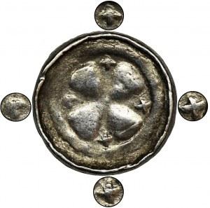 Niemcy, Saksonia, Anonimowi biskupi sascy, Denar krzyżowy X/XI wiek - NIENOTOWANY