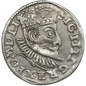Zygmunt III Waza, Trojak Poznań 1597 - RZADSZY