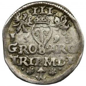 Sigismund III Vasa, 3 Groschen Vilnius 1593