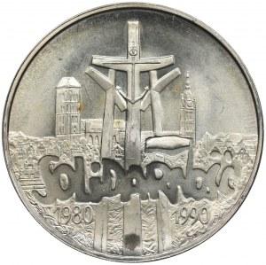 100.000 złotych 1990, Solidarność - TYP A