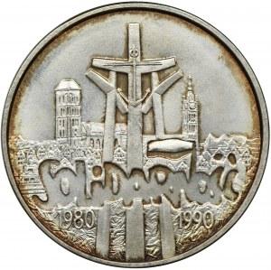 100.000 złotych 1990 Solidarność - TYP A
