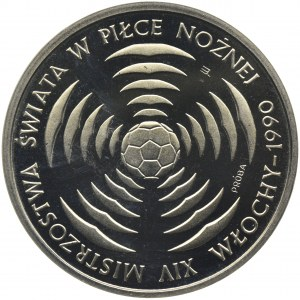 PRÓBA, 200 złotych 1988 - XIV Mistrzostwa Świata w Piłce Nożnej