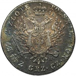Królestwo Polskie, 2 złote Warszawa 1818 IB