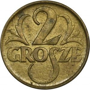 2 grosze 1923 Mosiądz