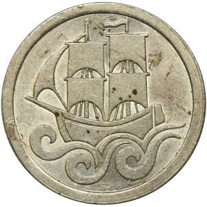 Wolne Miasto Gdańsk, 1/2 guldena 1923