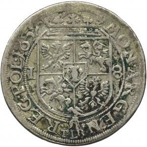Jan II Kazimierz, Ort Kraków 1659 TLB - Ślepowron, SVE