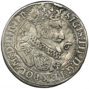 Sigismund III Vasa, 1/4 Thaler Danzig 1625 - PR•