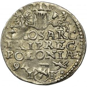Zygmunt III Waza, Trojak Poznań 1594 - RZADSZY