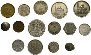 Zestaw, Mix monet zagranicznych - Egipt, Rosja... (15 szt.)