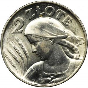 Women and ears, 2 zloty Londyn 1925
